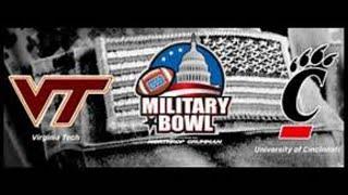 Military Bowl! Virginia Tech Hokies Vs. Cincinnati Bearcats Live Stream Reaction