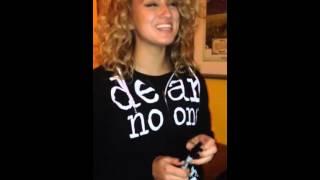 Tori Kelly singing J Moss