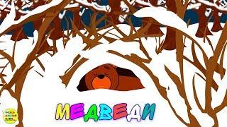 Учим диких животных:  медведь, медведица, медвежонок! Развивающие мультфильмы о животных