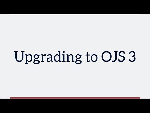 OJS 3 Features Overview