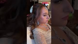 Varun Dhawan's wife Natasha Dalal gets ready for her wedding reception 👰 | #shorts