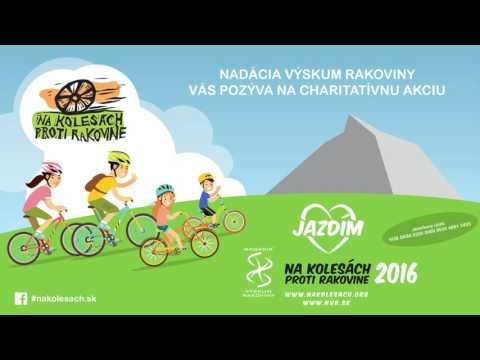 Zvučka kampane Na kolesách proti rakovine 2016