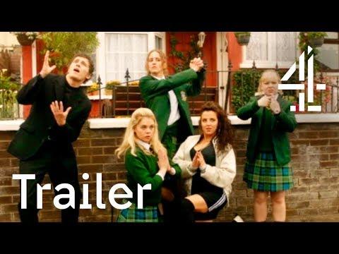 Video trailer för TRAILER | Derry Girls | Starts Thursday 4th January