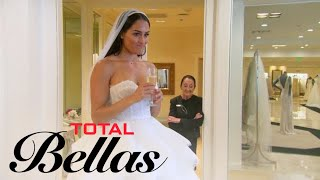 Nikki Bella Doesn't Feel Right Trying on Wedding Dresses   Total Bellas   E!