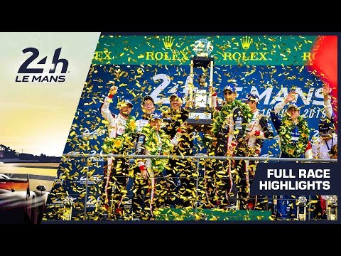 Image: Watch highlights of the 24 Hours of Le Mans!