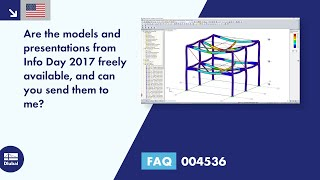 FAQ 004536 | Are the models and presentations from Info Day 2017 freely available, and can you send them to me?