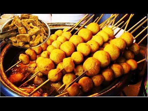 Curry Fish Balls (Ca Ri Ca Vien) Hong Kong Famous Street Food in SaiGon - Vietnam cheap street food
