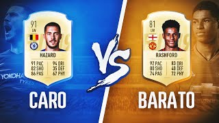 CARO VS BARATO !! PREMIER LEAGUE & LIGA SANTANDER !! FIFA 19 ULTIMATE TEAM