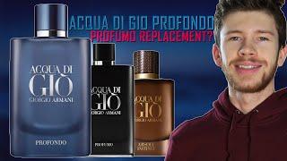 NEW GIORGIO ARMANI ACQUA DI GIÒ PROFONDO FRAGRANCE REVIEW | WILL THIS REPLACE PROFUMO?
