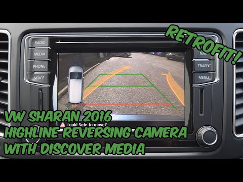 VW Golf 7 Reversing Camera Retrofit with Kenwood / Garmin