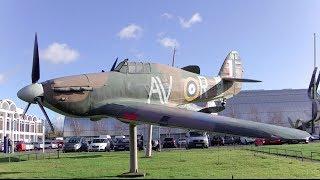 preview picture of video 'Лондон: RAF Museum - Музей Королевских ВВС [По Морям Под Землёй]'