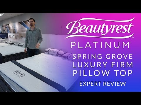 Simmons Beautyrest Platinum Spring Grove Luxury Firm Pillow Top Mattress Expert Review