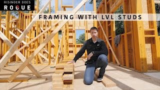 Framing with LVL studs