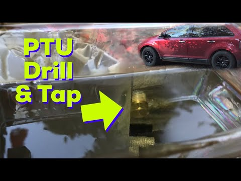 Ford Edge Ptu Drill Tap Before And After K Miles Mkx