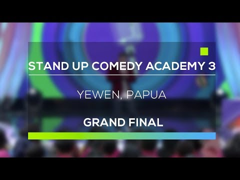 Stand Up Comedy Academy 3 : Yewen, Papua