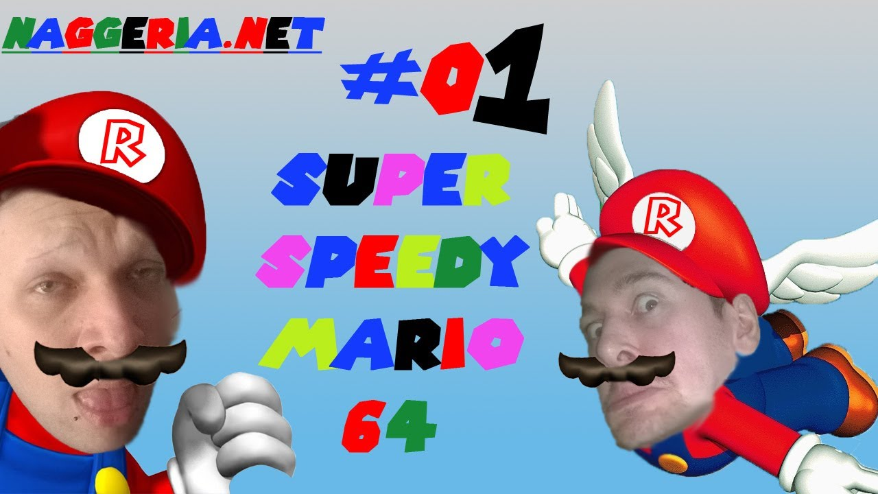 Super Speedy Mario 64 – Part #01