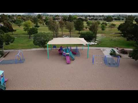 DJI Mavic Pro FPV Goggles - Very Early Morning Tour My Local Park
