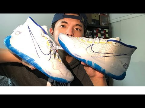 """Nike KD 12 Warriors """"DubNation"""" - EARLY REVIEW"""