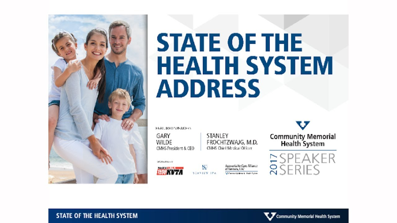 CMHS State of the Hospital Address