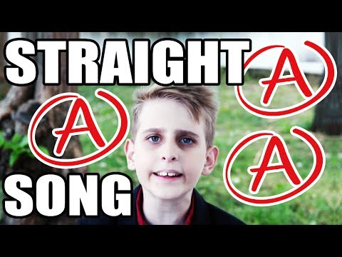 I GOT STRAIGHT A's!!! - SONG by MISHA (FOR KIDS)