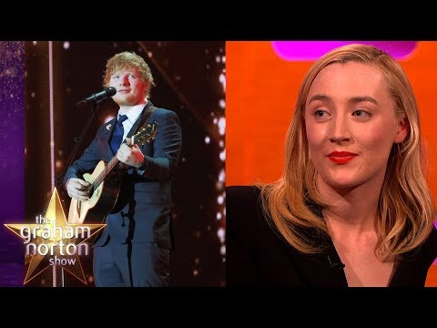 Ed Sheeran Tattooed Saoirse Ronan's Handwriting Onto Himself! | The Graham Norton Show