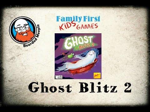 Bearded Meeple reviews Ghost Blitz 2