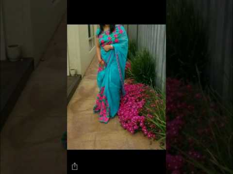 Supernet Saree