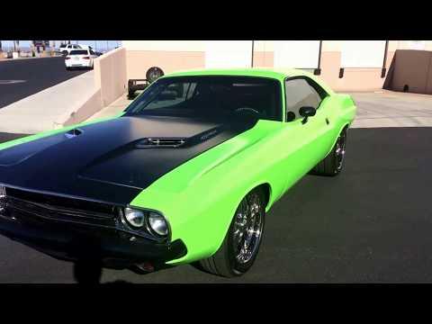 1970 Dodge Challenger 1000HP Supercharged 472 Hemi: 1000HP Supercharged 472 Hemi 1970 Dodge Challenger Sublime Green Wrap 472 HEMI 1