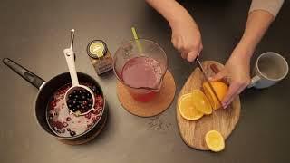 Рецепты горячих напитков от боли в горле (морс)