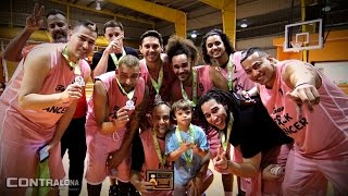 Team F*ck Cancer derrota a los Luchadores en juego de Baloncesto