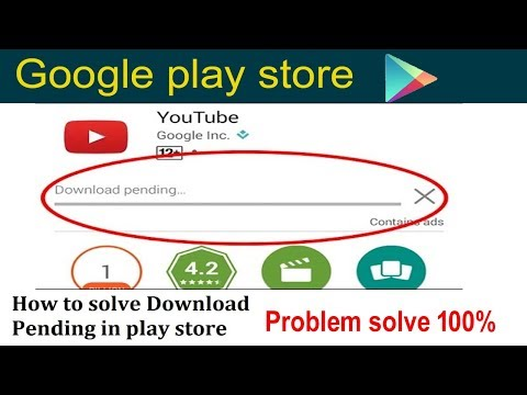🥇 How to fix download Pending problem of play store for android