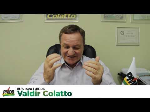Deputado Federal Valdir Colatto - Bom Jesus do Oeste SC