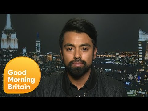 Southwest Airlines Surviver On His Viral Livestream Video   Good Morning Britain