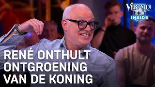 René onthult ontgroening van Koning Willem-Alexander | VERONICA INSIDE