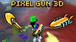 GOLDEN SHOVEL + AIR SURFBOARD VICTORY Pixel Gun 3D BATTLE ROYALE