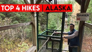 Top 4 Hikes In Alaska | + Scary Bonus Trail
