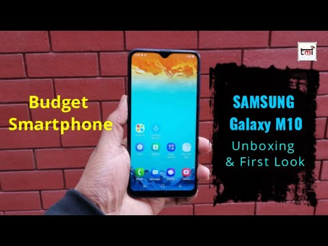 Samsung Galaxy M10: Unboxing and 1st Impression