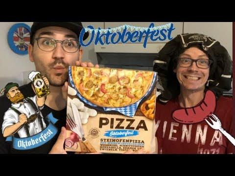 Oktoberfest-Pizza mit Weißwurst, Weißkohl & Co von Netto im Test: Schmeckt so die Wiesn 2019?