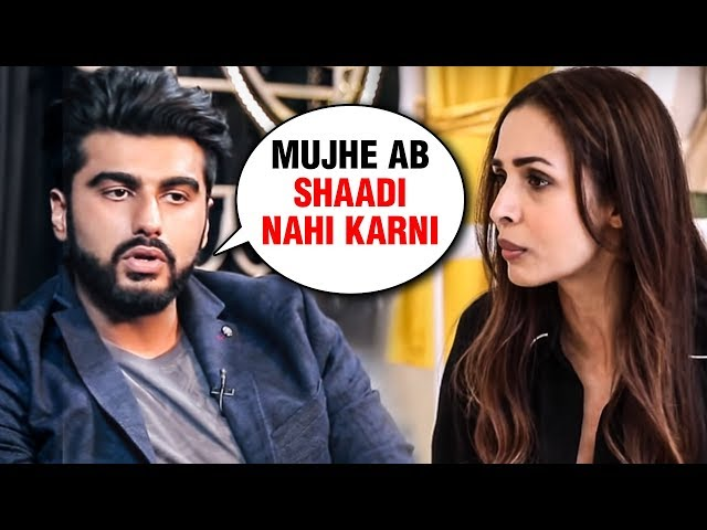 Arjun Kapoor Says NO To Marriage With Malaika Arora!