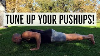 Top Pushup Mistakes and How To Fix Them FOR GOOD with Antranik!