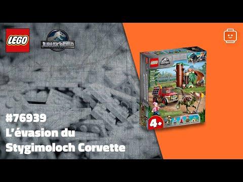Vidéo LEGO Jurassic World 76939 : L'évasion du Stygimoloch