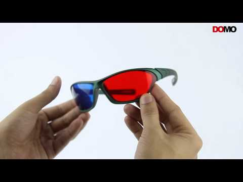 a4fc0557dd Domo nhance rb560p sports anaglyph passive red blue 3d glasses for tablet