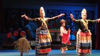 Sarawak Cultural Village - Bidayuh Dance (Rejang Be'uh)