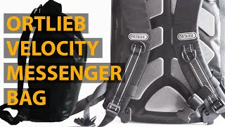 Ortlieb Velocity Unisex Cycling Bag Review After 3 years of Use - Waterproof Commuter Friendly