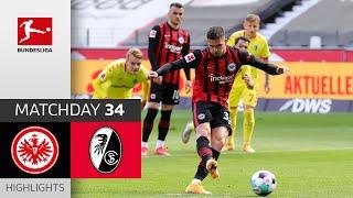 Frankfurt 3-1 Freiburg Pekan 34