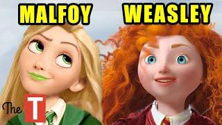 Sorting Disney Princesses Into Hogwarts Houses