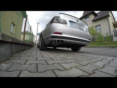 BMW E46 328Ci M52TUB28 142kW 1999 Eisenmann Exhaust - Sound