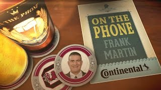 "Frank Martin: ""We Have Everyone's Attention"" 03/29/2017"