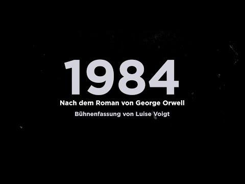 1984 von George Orwell - Premiere 02.09.2018