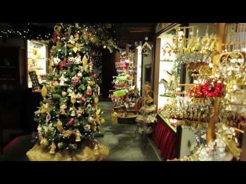 Kathe Wohlfahrt's Christmas shop at Rothenburg